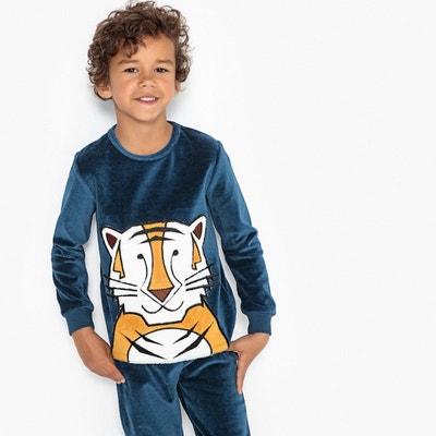 Pyjama velours 3-12 ans Pyjama velours 3-12 ans LA REDOUTE COLLECTIONS