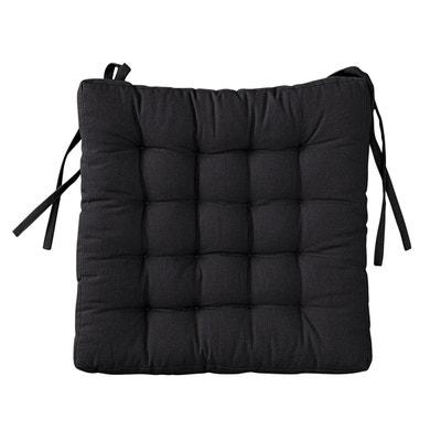 Chaise noire la redoute - Galette de chaise originale ...