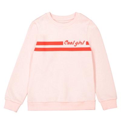 Cool Girl Printed Sweatshirt, 3-12 Years La Redoute Collections