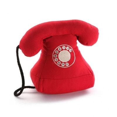 BLOC / CALE PORTE TELEPHONE ROUGE VERSA