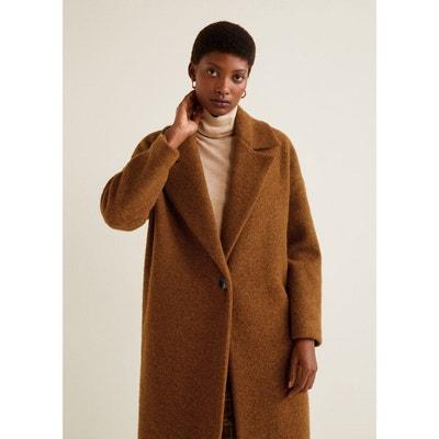 Manteau déstructuré laine vierge Manteau déstructuré laine vierge MANGO f4a2e52b1756