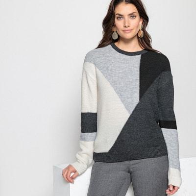 Jersey de punto grueso, lana y alpaca Jersey de punto grueso, lana y alpaca ANNE WEYBURN