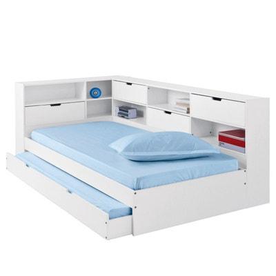 Lit Enfant Lit Superposé Gigogne Mezzanine La Redoute - Lit avec un tiroir lit