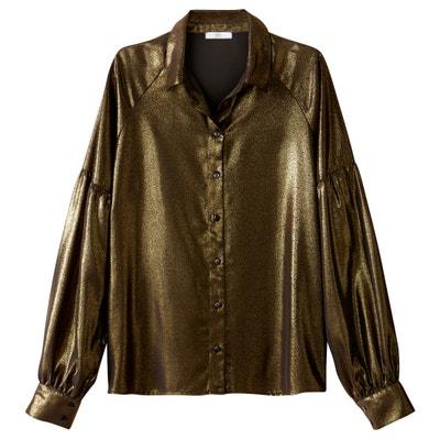 Metallic Shirt Metallic Shirt La Redoute Collections