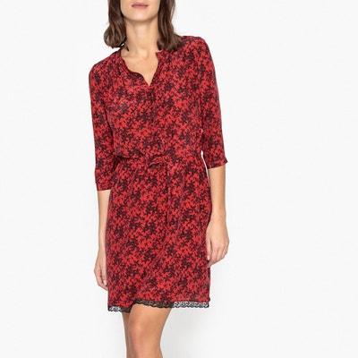 Long-Sleeved Printed Dress Long-Sleeved Printed Dress IKKS