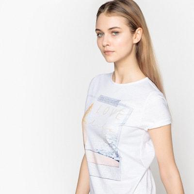 Tee-shirt imprimé polaroid La Redoute Collections