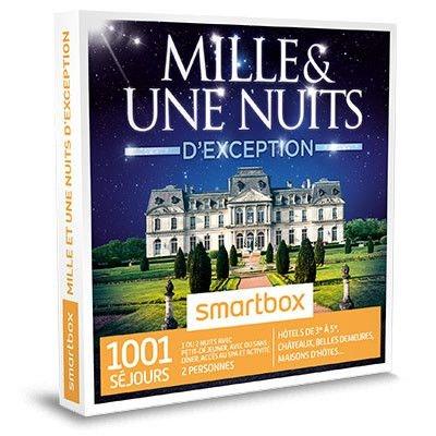 Mille et une nuits d'exception - Coffret Cadeau Mille et une nuits d'exception - Coffret Cadeau SMARTBOX