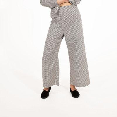 Pantalon évasé taille haute DA/DA Diane Ducasse