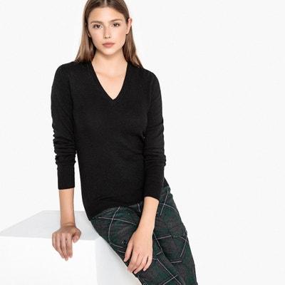 Pull in lana scollo a V in maglia fine Pull in lana scollo a V in maglia fine BENETTON