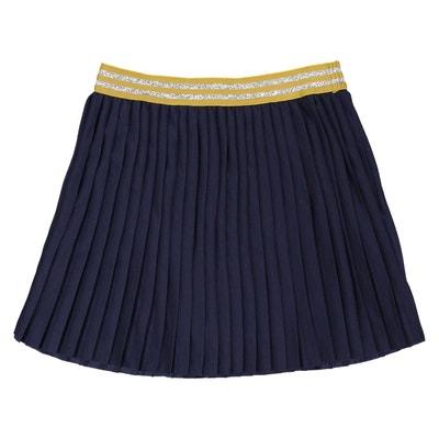 Jupe plissée ceinture brillante 3-12 ans Jupe plissée ceinture brillante 3-12 ans La Redoute Collections
