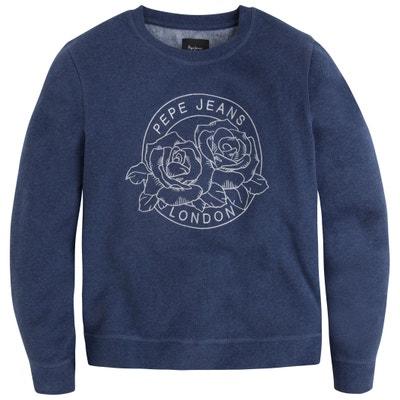 Floral Print Sweatshirt PEPE JEANS