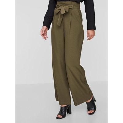 Pantalon Taille haute ample VERO MODA