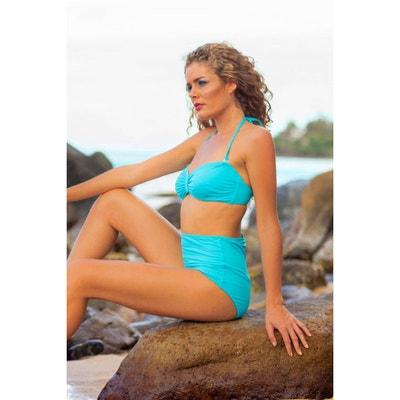 Maillot de bain Emmatika Culotte Haute Solid Cianico Swinga Turquoise (bas) EMMATIKA