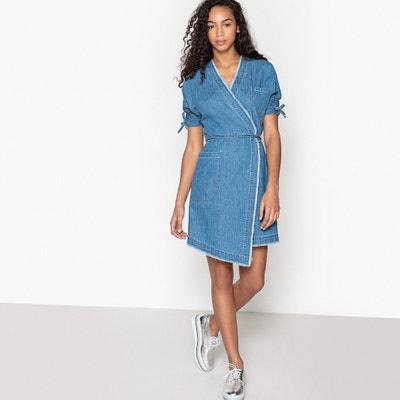 Denim Wrap Dress La Redoute Collections