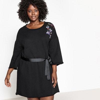 Kleid aus besticktem Jersey CASTALUNA