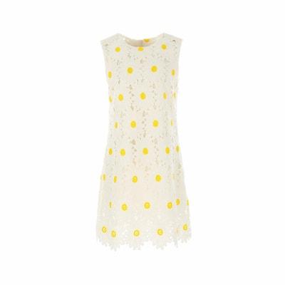 Daisy Embroidered Straight Dress RENE DERHY