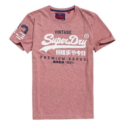 T-shirt scollo rotondo maniche corte SUPERDRY