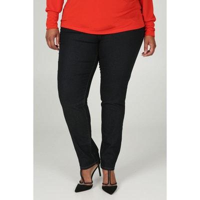 Jean slim femme grande taille - Castaluna Paprika   La Redoute e10a62ee13e3