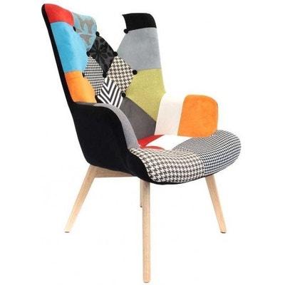 fauteuil design color patchwork fauteuil design color patchwork cmp - Fauteuil Scandinave Patchwork