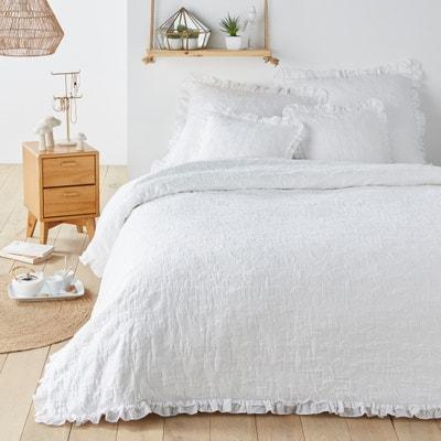 Jara Cotton Jacquard Bedspread Jara Cotton Jacquard Bedspread La Redoute Interieurs