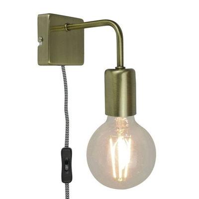 LINA-Applique avec Prise Métal L15cm LINA-Applique avec Prise Métal L15cm SAMPA HELIOS