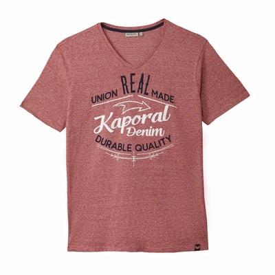 Camiseta con cuello de pico, manga corta KAPORAL 5
