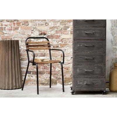 chaise industrielle en solde la redoute. Black Bedroom Furniture Sets. Home Design Ideas
