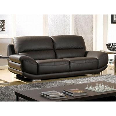 canape cuir de qualite en solde la redoute. Black Bedroom Furniture Sets. Home Design Ideas