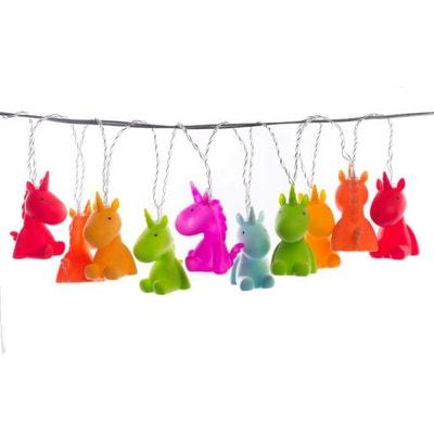 Guirlande De 10 Licornes Colorées VLAMMY Guirlande De 10 Licornes Colorées VLAMMY LA CHAISE LONGUE