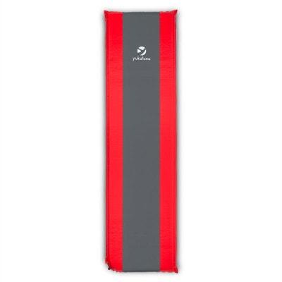 Goodsleep 5 tapis de sol matelas à air 5cm d'épaisseur rouge gris YUKATANA