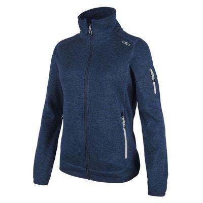 Veste Knitted Melange Fleece Jacket 3H14746 CMP