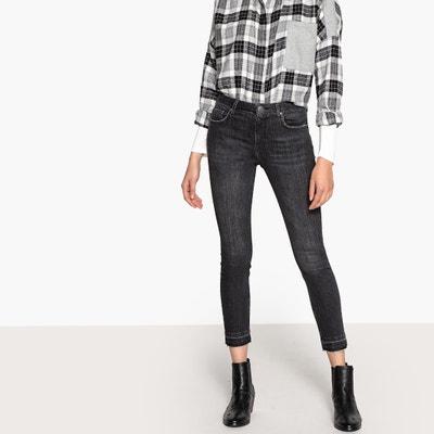 Jeans slim 7/8 taglio grezzo, vita standard Jeans slim 7/8 taglio grezzo, vita standard La Redoute Collections