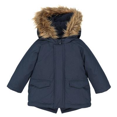 Parka con cappuccio effetto pelliccia 3 mesi-3 anni Parka con cappuccio effetto pelliccia 3 mesi-3 anni La Redoute Collections