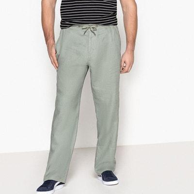 Pantalon pur lin taille élastiquée Pantalon pur lin taille élastiquée CASTALUNA FOR MEN