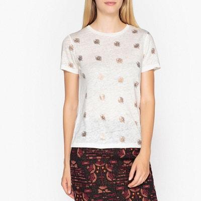 T shirt lin, manches courtes T shirt lin, manches courtes IKKS