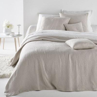 dessus de lit pur coton acanthe la redoute interieurs - Dessus De Lit Boutis