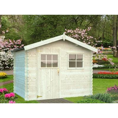 abri jardin bois rimini 1 6 m 274 x 220 x 217 - Abri Jardin