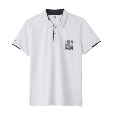 Koszulka polo z krótkim rękawem i nadrukiem La Redoute Collections