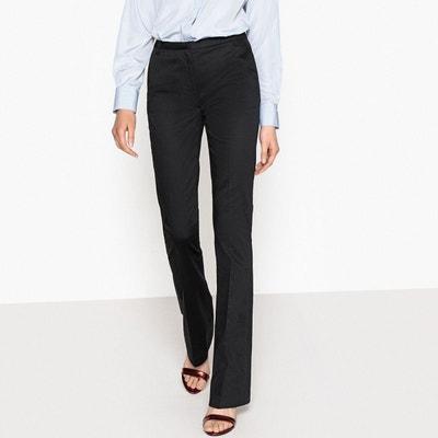 Pantalon bootcut en satin de coton La Redoute Collections