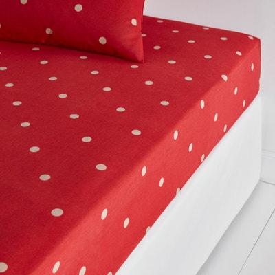Bedrukt hoeslaken in flanel Edelweiss Bedrukt hoeslaken in flanel Edelweiss La Redoute Interieurs