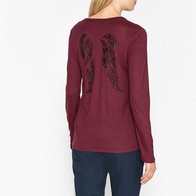 Langärmeliges Shirt PATRIK mit Print hinten Langärmeliges Shirt PATRIK mit Print hinten BERENICE