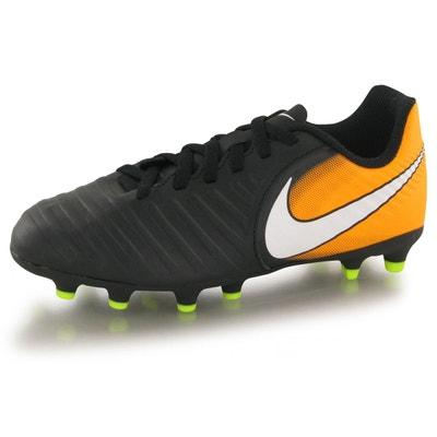 premium selection 8e592 f270f Chaussures Nike Tiempo Rio Iv Fg Noir Enfant Chaussures Nike Tiempo Rio Iv  Fg Noir Enfant