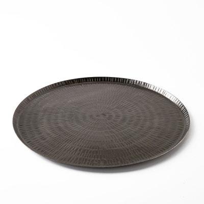Vassoio in metallo martellato Ø35 cm, Sahani AM.PM.