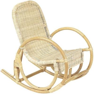 Rocking Chair Pour Enfant En Rotin AUBRY GASPARD