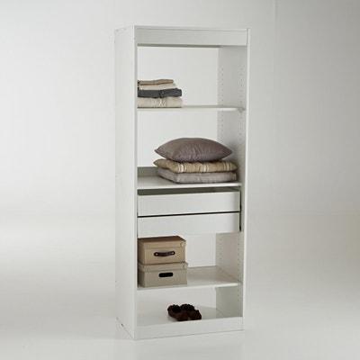 Módulo de armario con 3 estanterías y 2 cajones Build Módulo de armario con 3 estanterías y 2 cajones Build La Redoute Interieurs