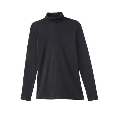Camiseta con cuello alto y manga larga Camiseta con cuello alto y manga larga BENETTON