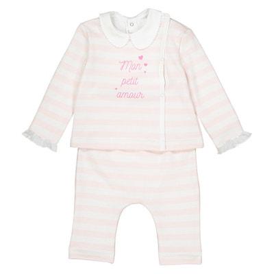 Conjunto para bebé recém-nascido,  prematuro - 12 meses, Oeko Tex La Redoute Collections