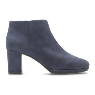 Kelda Nights Leather Ankle Boots Kelda Nights Leather Ankle Boots CLARKS