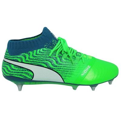 56f344bc44fdc Chaussures de football cuir PUMA ONE 18 1 MX SG Chaussures de football cuir  PUMA ONE