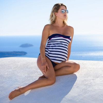 Bikini de embarazo a rayas Bikini de embarazo a rayas CACHE COEUR